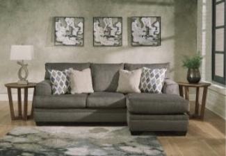 dark grey chofa display